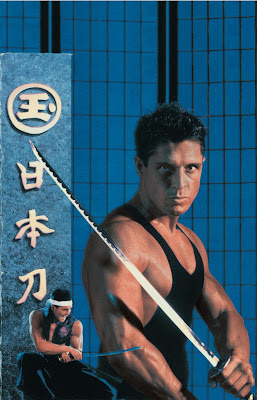 American Samurai (aka Ninja: American Samurai) (1992, USA) poster art
