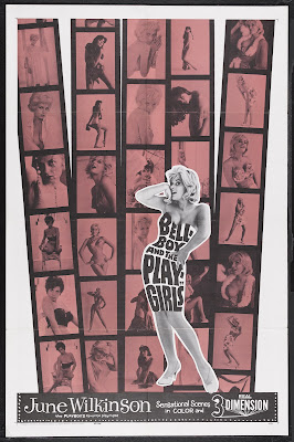 The Bellboy and the Playgirls (aka The Playgirls and the Bellboy) (1962, USA / Germany) movie poster