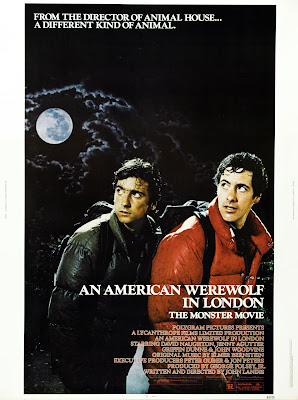 An American Werewolf in London (1981, UK) movie poster