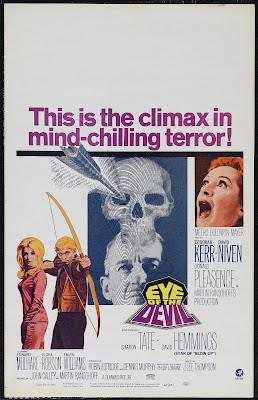 Eye of the Devil (aka 13) (1966, USA) movie poster