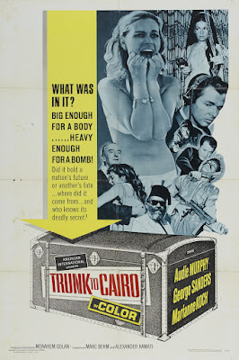 Trunk to Cairo (1966, Israel / Germany) movie poster