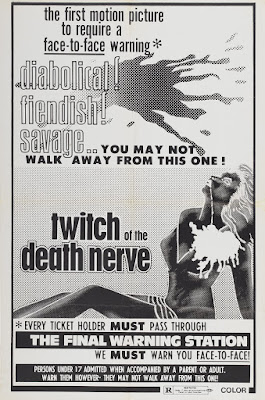 Twitch of the Death Nerve (Reazione a catena / Chain Reaction) (1971, Italy) movie poster