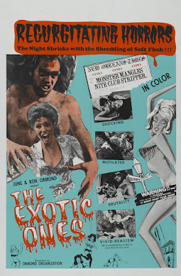 The Monster and the Stripper (aka The Exotic Ones) (1968, USA) movie poster
