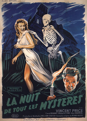 House on Haunted Hill (1959, USA) French poster
