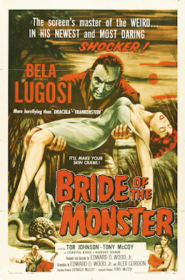 Bride of the Monster (1955, USA) movie poster