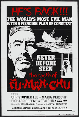 The Castle of Fu Manchu (Die Folterkammer des Dr. Fu Man Chu / El Castillo de Fu-Manchu) (1969, Germany / Italy / Spain / UK) movie poster