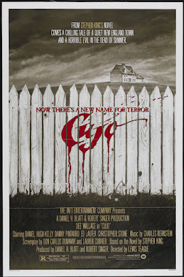 Cujo (1983, USA) movie poster