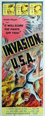 Invasion USA (1952, USA) movie poster