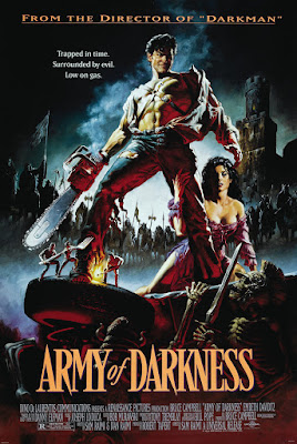 Army of Darkness (1992, USA) movie poster