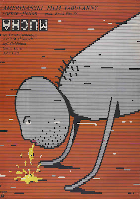 The Fly (1986, USA / Canada / UK) Polish poster