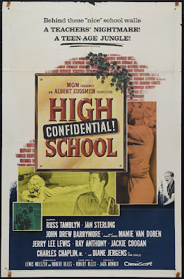 High School Confidential! (1958, USA) movie poster