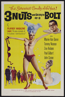 3 Nuts in Search of a Bolt (1964, USA) movie poster