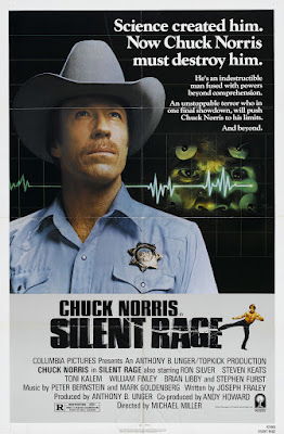 Silent Rage (1982, USA) movie poster
