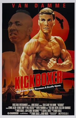Kickboxer (1989, USA) movie poster