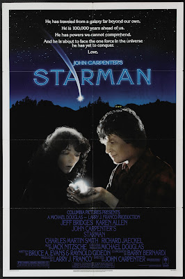 Starman (1984, USA) movie poster