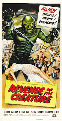 Revenge of the Creature (1955, USA) movie poster