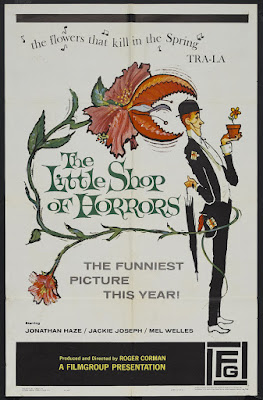 The Little Shop of Horrors (1960, USA) movie poster