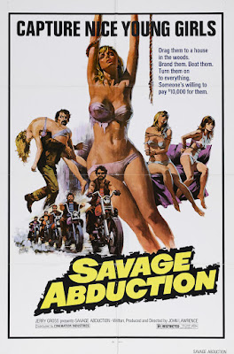 Savage Abduction (aka Cycle Psycho) (1973, USA) movie poster