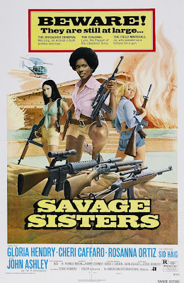 Savage Sisters (1974, USA / Philippines) movie poster