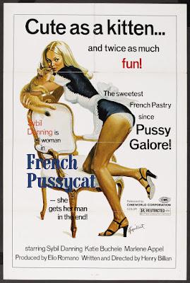 French Pussycat (Das Mädchen mit der heißen Masche) (1972, Germany) movie poster