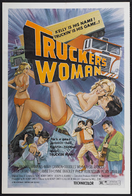Trucker's Woman (1975, USA) movie poster