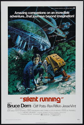 Silent Running (1972, USA) movie poster