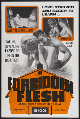 Forbidden Flesh (1968, USA) movie poster