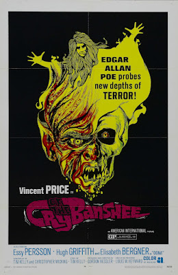 Cry of the Banshee (1970, UK) movie poster