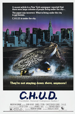 C.H.U.D. (1984, USA) movie poster