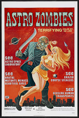 The Astro-Zombies (1968, USA) movie poster
