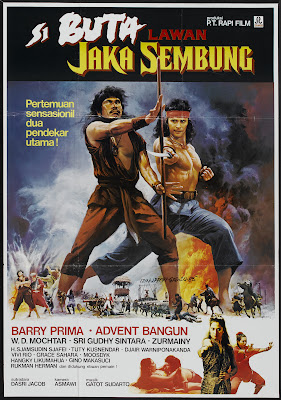 The Warrior and the Blind Swordsman (Jaka Sembung vs Si Buta) (1983, Indonesia) movie poster