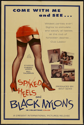 Spiked Heels and Black Nylons (1967, USA) movie poster