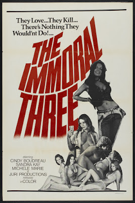 The Immoral Three (1975, USA) movie poster