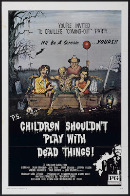 Children Shouldn't Play with Dead Things (1972, USA) movie poster