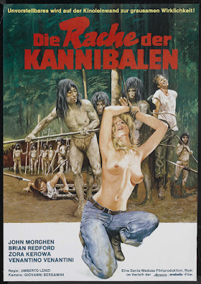 Cannibal ferox (aka Make Them Die Slowly) (1981, Italy) German poster