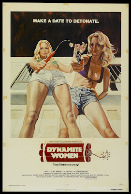 The Great Texas Dynamite Chase (aka Dynamite Women) (1976, USA) movie poster