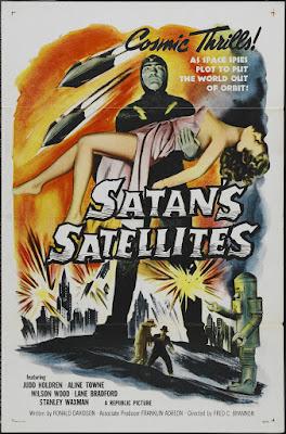Satan's Satellites (1958, USA) movie poster
