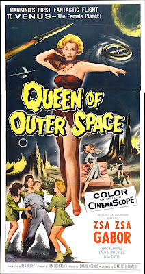 Queen of Outer Space (1958, USA) movie poster