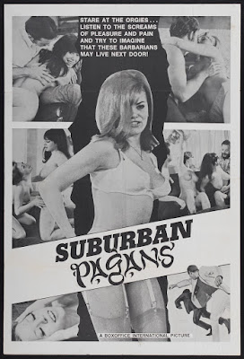 Suburban Pagans (1968, USA) movie poster