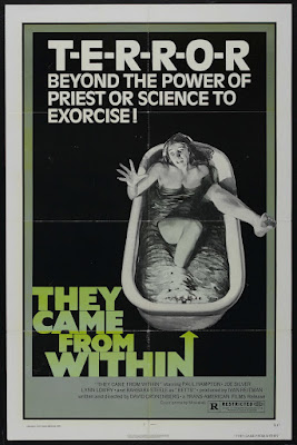 Shivers (aka They Came from Within) (1975, Canada) movie poster