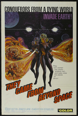 They Came from Beyond Space (1967, UK) movie poster