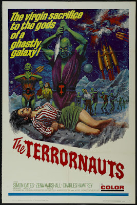 The Terrornauts (1967, UK) movie poster