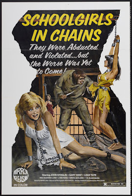 Schoolgirls in Chains (1973, USA) movie poster