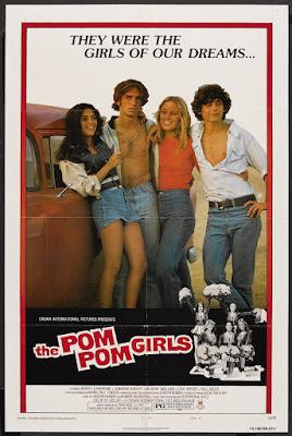 The Pom Pom Girls (1976, USA) movie poster