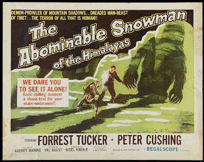 The Abominable Snowman (aka The Abominable Snowman of the Himalayas) (1957, UK)