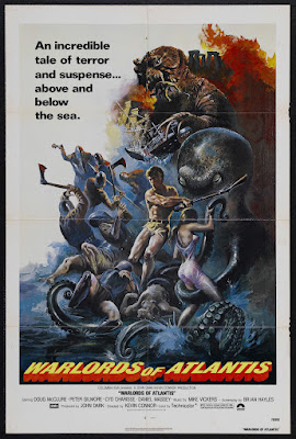 Warlords of Atlantis (1978, UK) movie poster