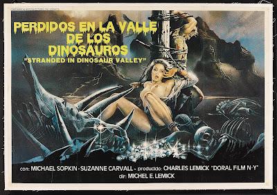 Massacre in Dinosaur Valley (Nudo e selvaggio, aka Stranded in Dinosaur Valley, aka Cannibal Ferox 2) (1985, Italy) movie poster