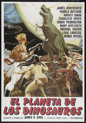 Planet of Dinosaurs (1978, USA) movie poster