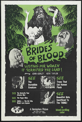 Brides of Blood (1968, USA / Philippines) movie poster