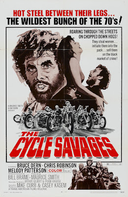 The Cycle Savages (1969, USA) movie poster